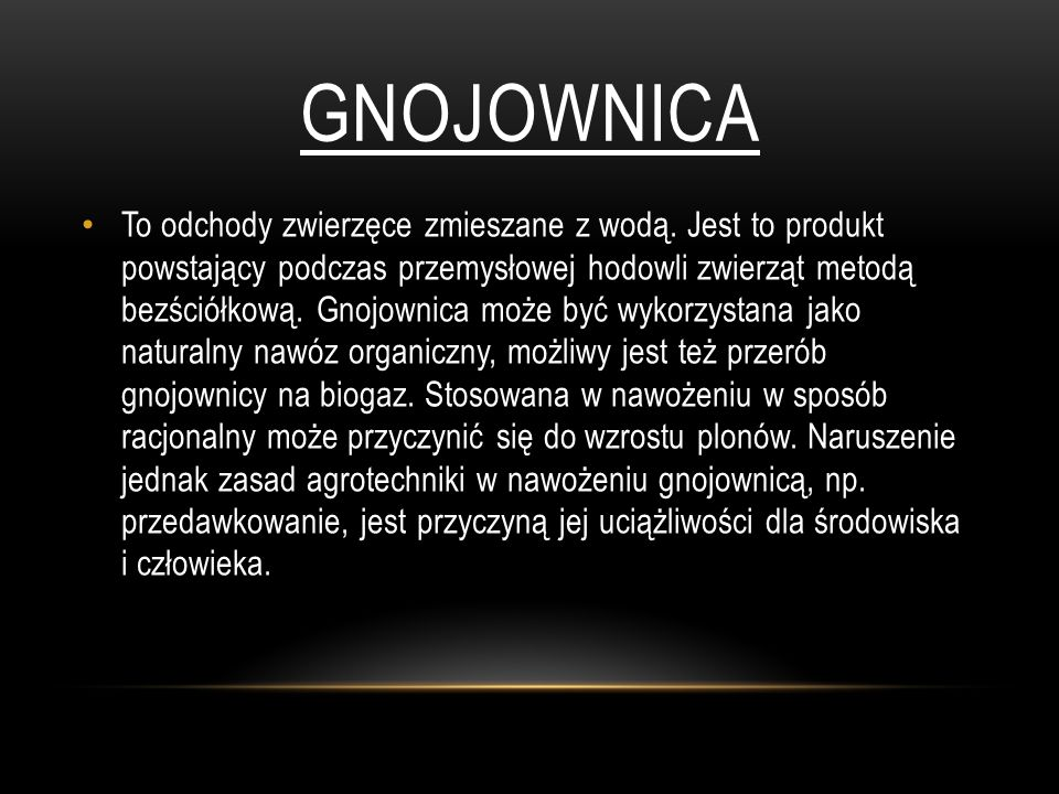 Gnojownica