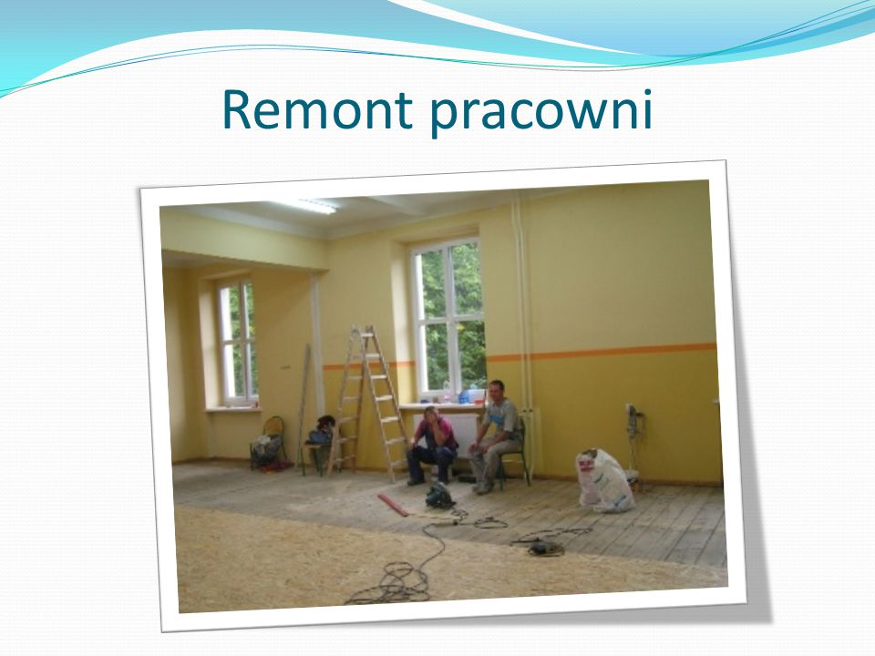 Remont pracowni