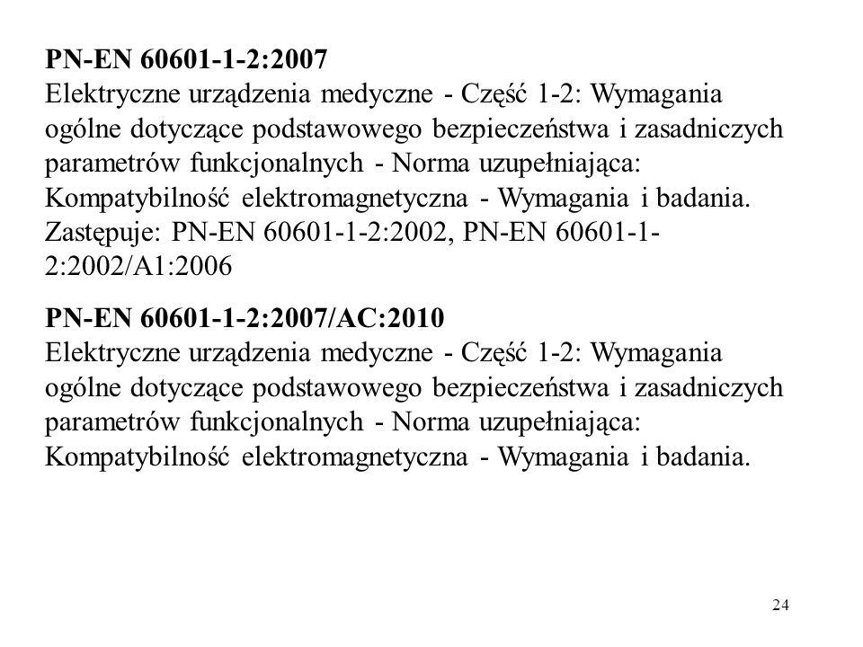 PN-EN 60601-1-2:2007