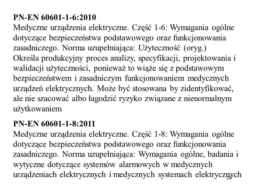 PN-EN 60601-1-6:2010