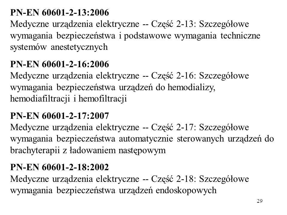 PN-EN 60601-2-13:2006