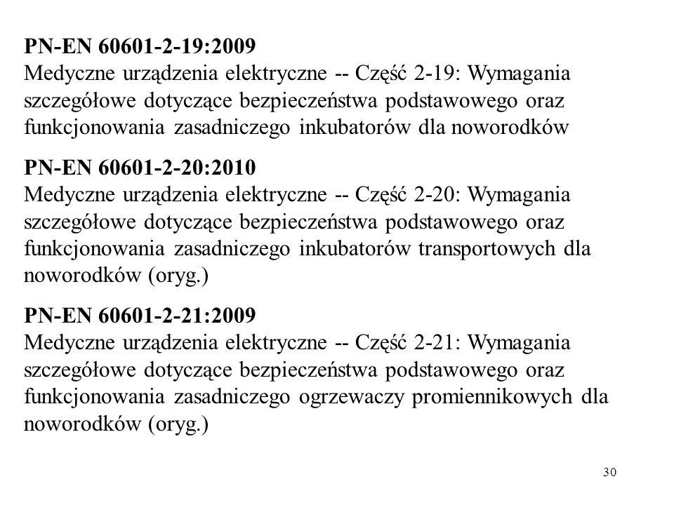 PN-EN 60601-2-19:2009