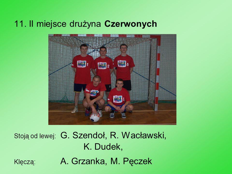 11. II miejsce drużyna Czerwonych