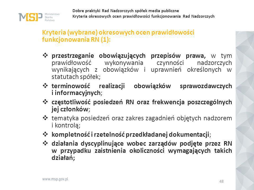 terminowość realizacji obowiązków sprawozdawczych i informacyjnych;
