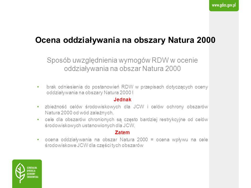 Ocena oddziaływania na obszary Natura 2000