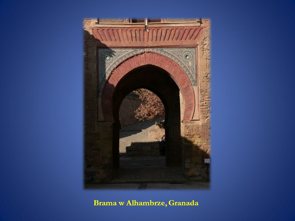 Brama w Alhambrze, Granada