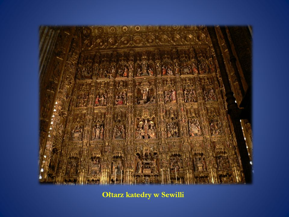 Ołtarz katedry w Sewilli