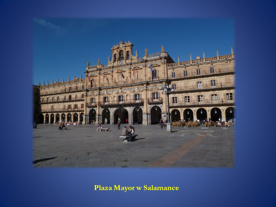 Plaza Mayor w Salamance