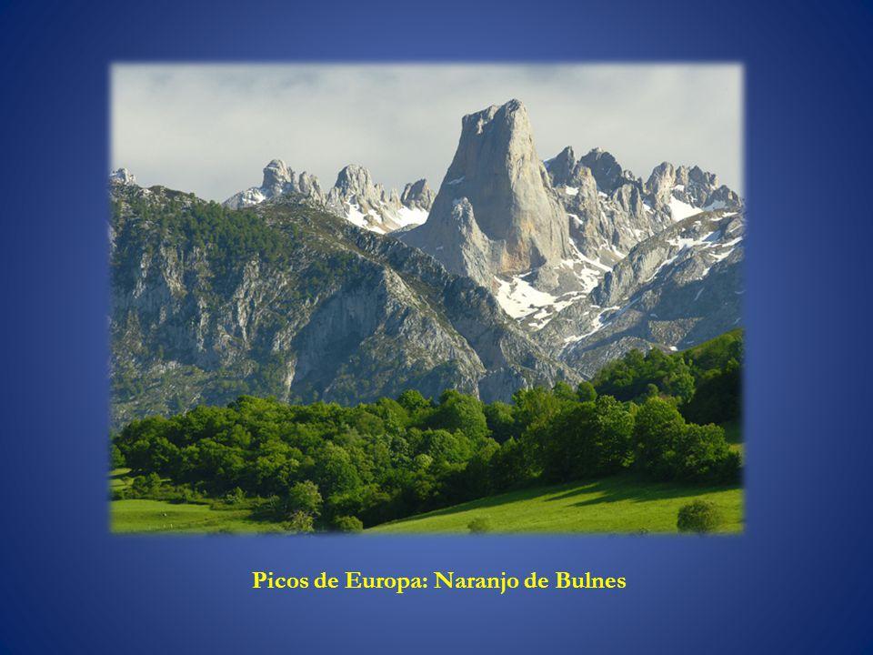 Picos de Europa: Naranjo de Bulnes