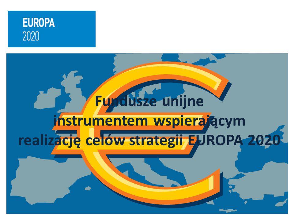 instrumentem wspierającym realizację celów strategii EUROPA 2020