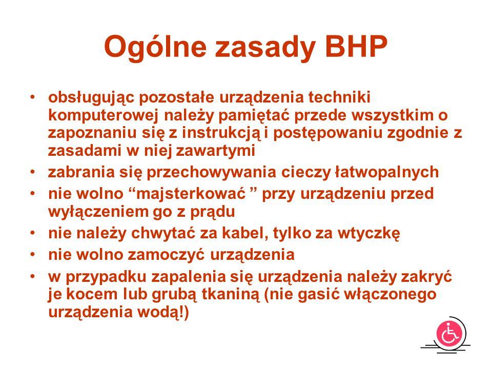 Sala 201 Ogólne zasady BHP.
