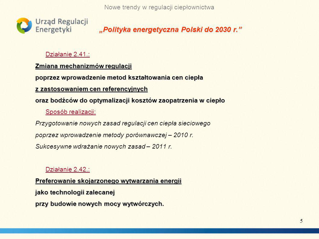 """""""Polityka energetyczna Polski do 2030 r."""