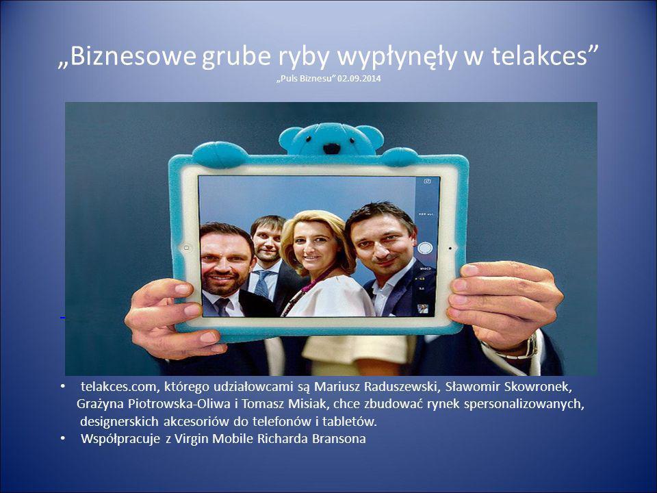 """""""Biznesowe grube ryby wypłynęły w telakces """"Puls Biznesu 02.09.2014"""