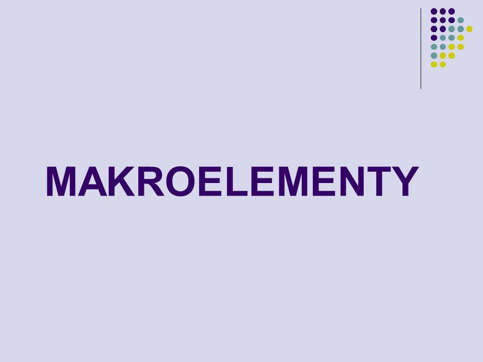 MAKROELEMENTY