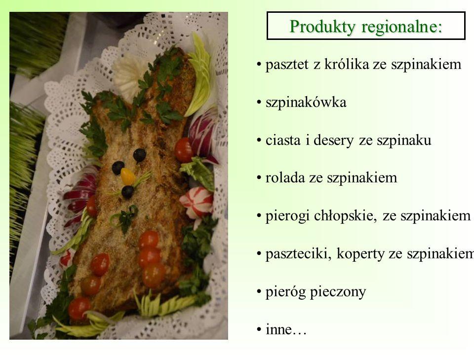 Produkty regionalne: pasztet z królika ze szpinakiem szpinakówka