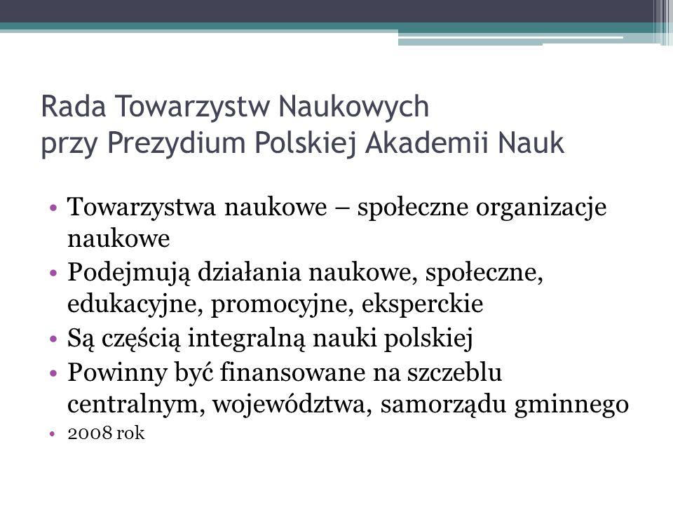 Rada Towarzystw Naukowych przy Prezydium Polskiej Akademii Nauk