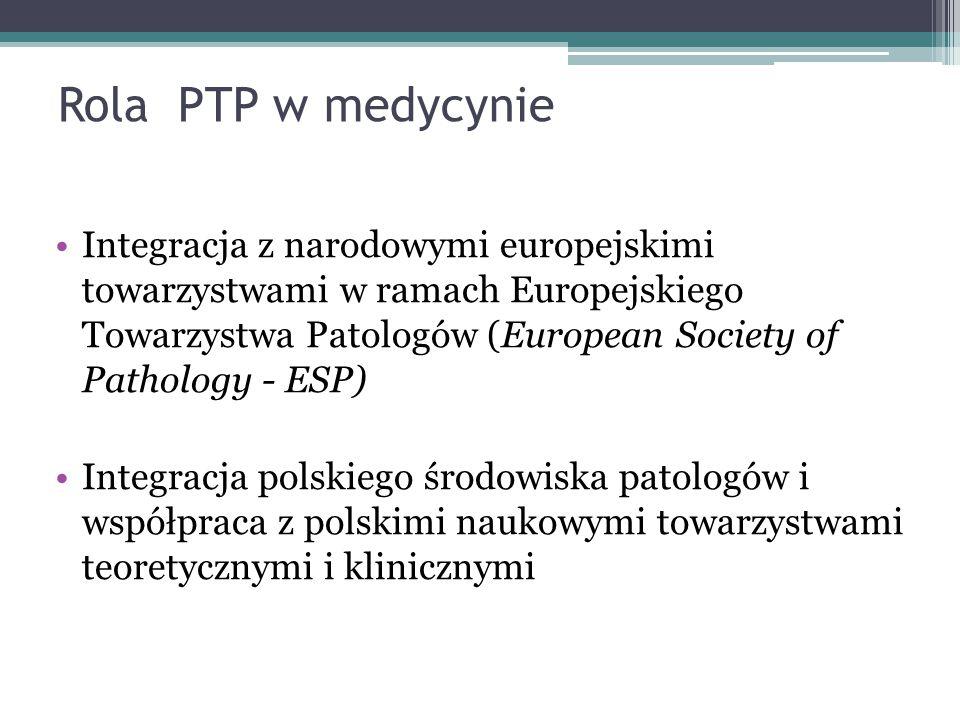 Rola PTP w medycynie