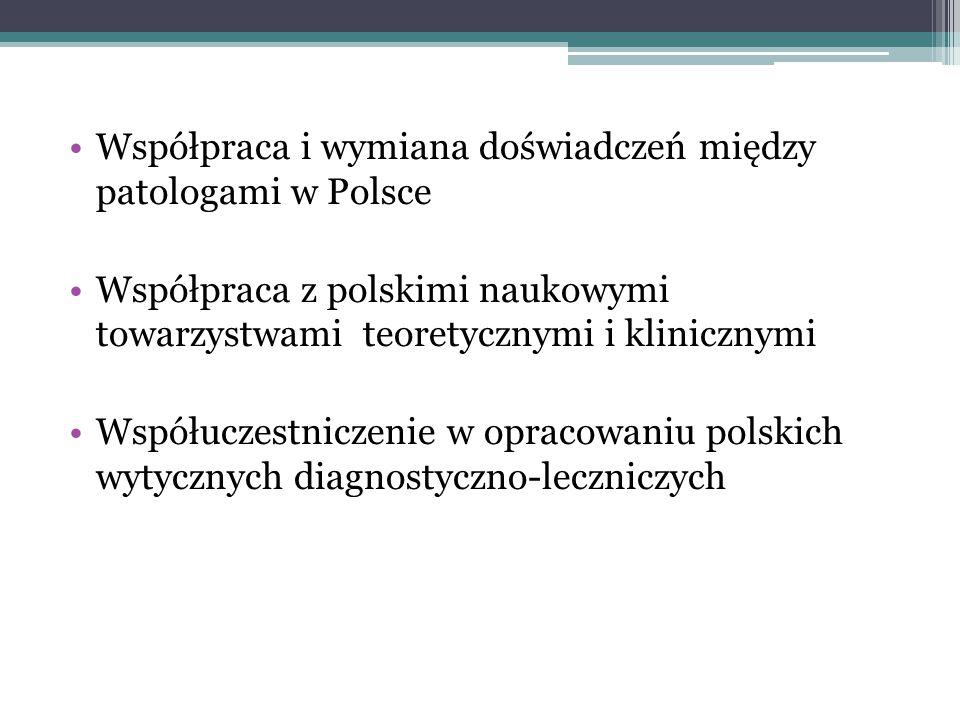 Współpraca i wymiana doświadczeń między patologami w Polsce