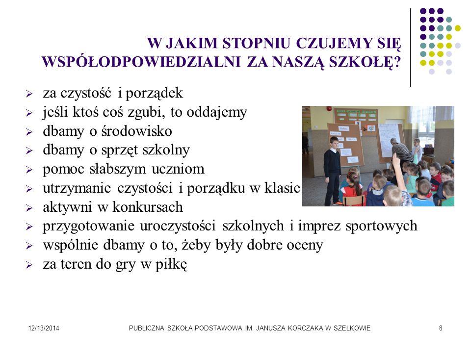PUBLICZNA SZKOŁA PODSTAWOWA IM. JANUSZA KORCZAKA W SZELKOWIE