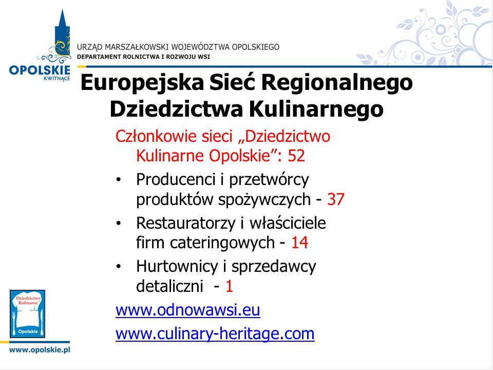 Europejska Sieć Regionalnego Dziedzictwa Kulinarnego