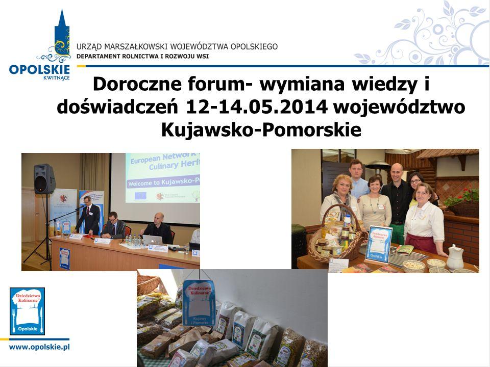 Doroczne forum- wymiana wiedzy i doświadczeń 12-14. 05