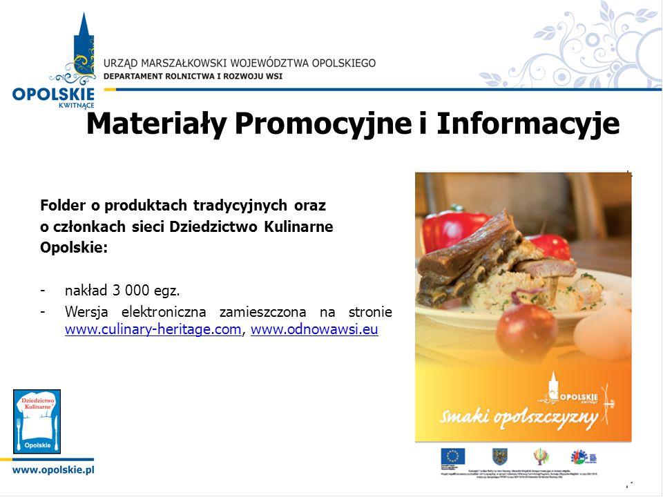 Materiały Promocyjne i Informacyje