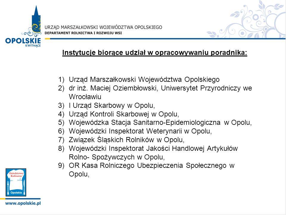 Instytucje biorące udział w opracowywaniu poradnika: