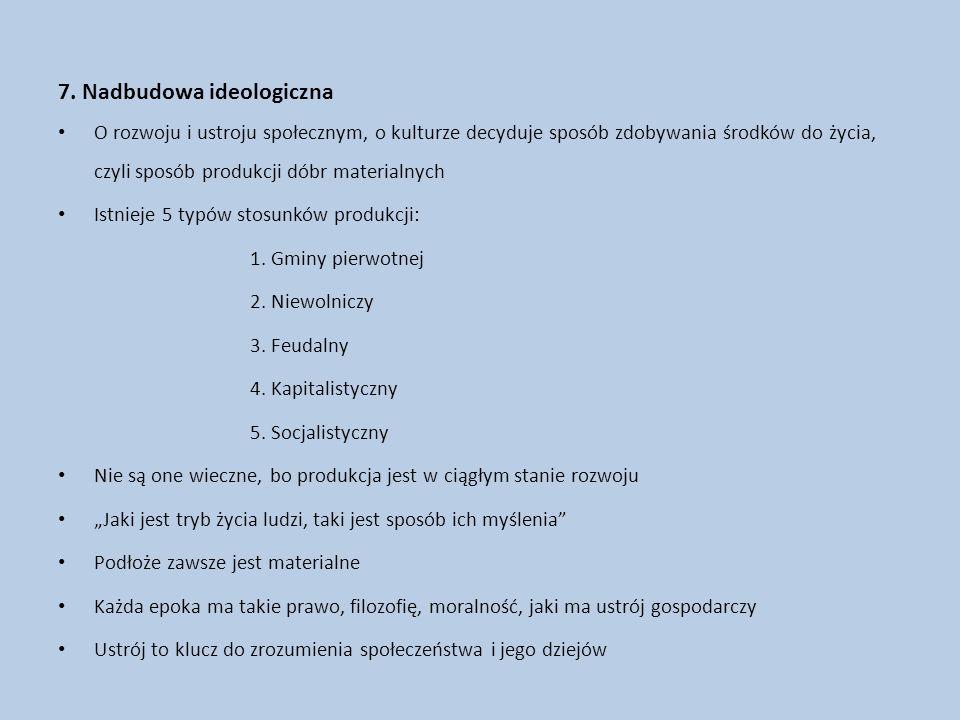 7. Nadbudowa ideologiczna