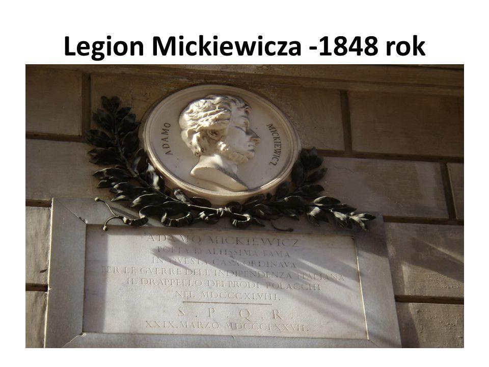 Legion Mickiewicza -1848 rok