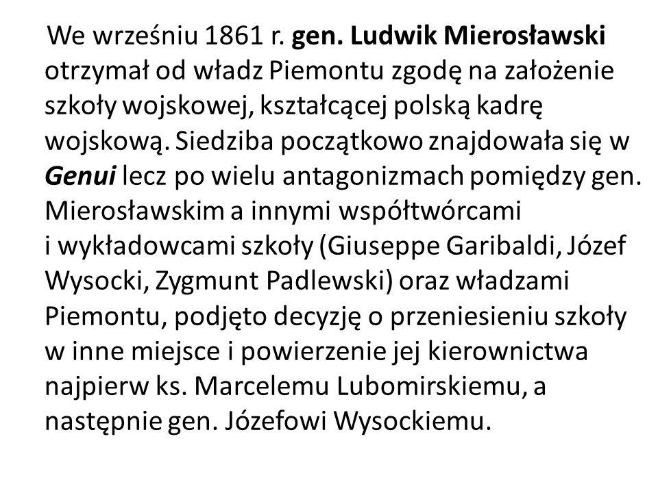 We wrześniu 1861 r. gen.