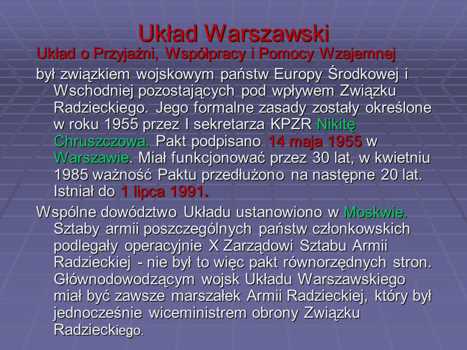 Układ Warszawski