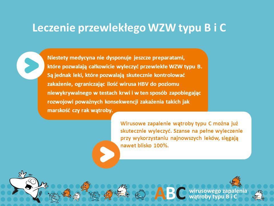 Leczenie przewlekłego WZW typu B i C