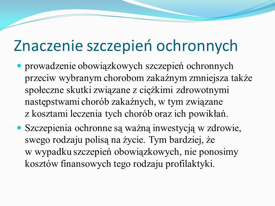 Znaczenie szczepień ochronnych
