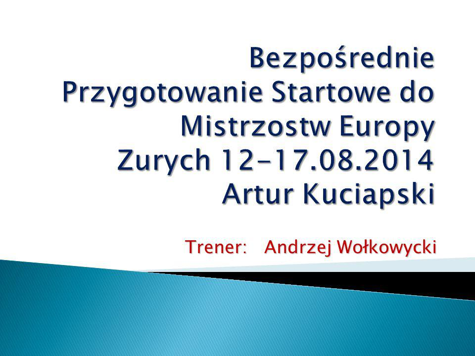 Trener: Andrzej Wołkowycki