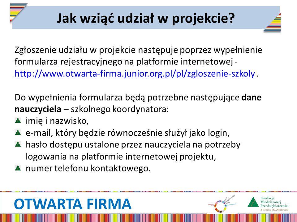 Jak wziąć udział w projekcie