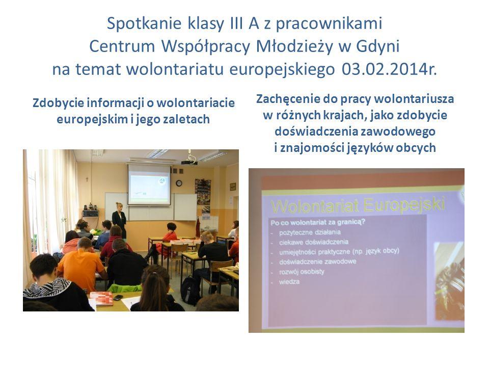 Zdobycie informacji o wolontariacie europejskim i jego zaletach