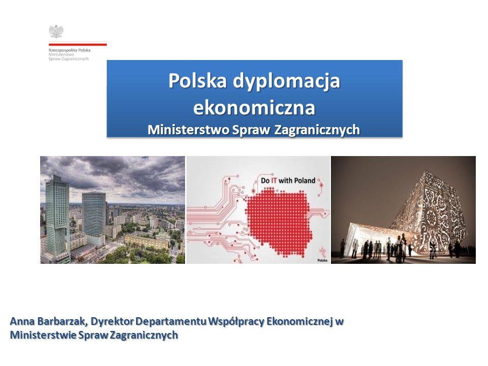 Polska dyplomacja ekonomiczna Ministerstwo Spraw Zagranicznych