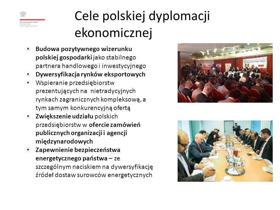 Cele polskiej dyplomacji ekonomicznej