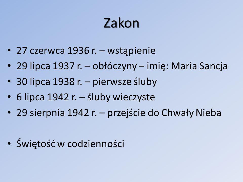 Zakon 27 czerwca 1936 r. – wstąpienie