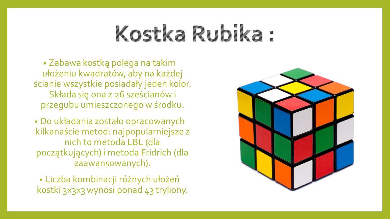 Kostka Rubika :