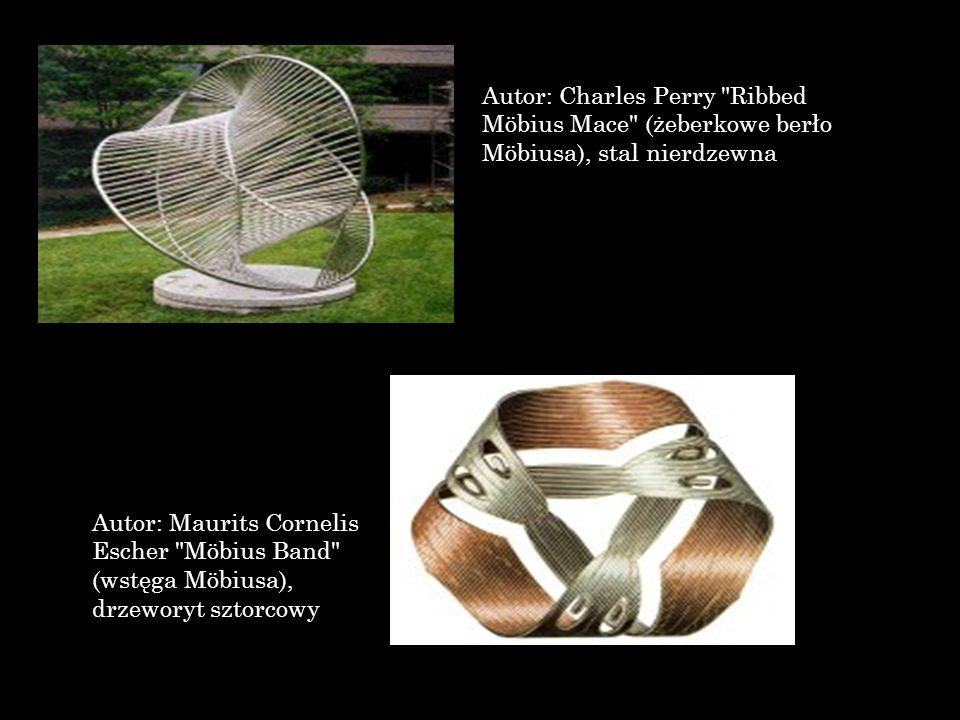 Autor: Charles Perry Ribbed Möbius Mace (żeberkowe berło Möbiusa), stal nierdzewna