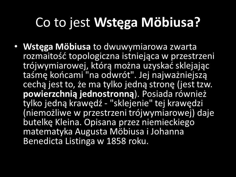 Co to jest Wstęga Möbiusa