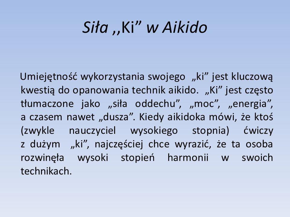 Siła ,,Ki w Aikido