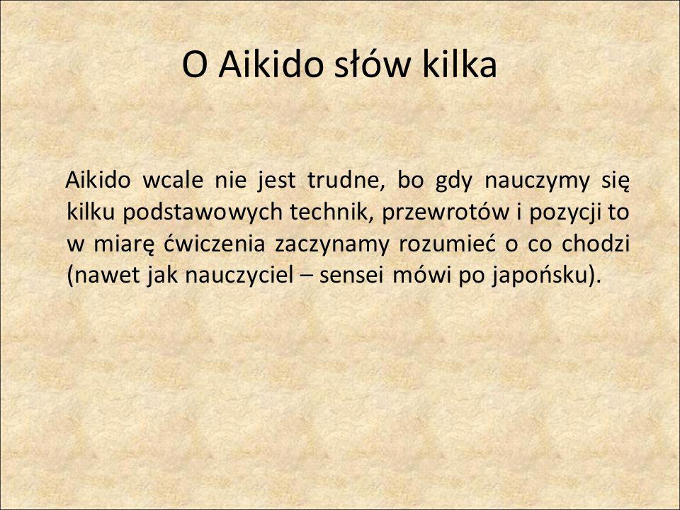 O Aikido słów kilka