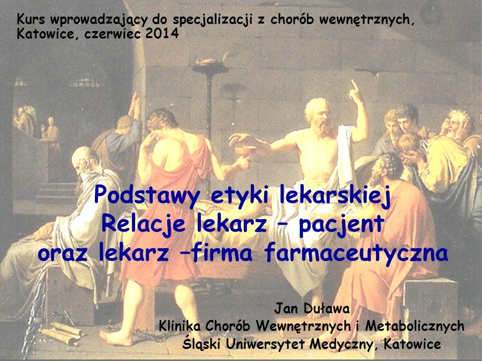 Kurs wprowadzający do specjalizacji z chorób wewnętrznych, Katowice, czerwiec 2014