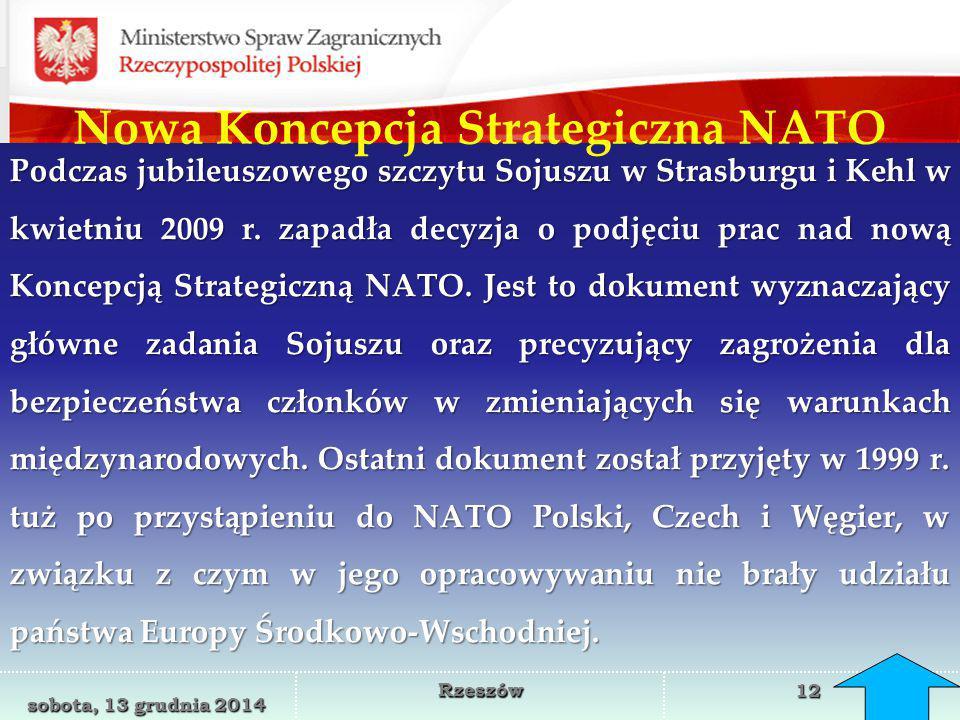 Nowa Koncepcja Strategiczna NATO