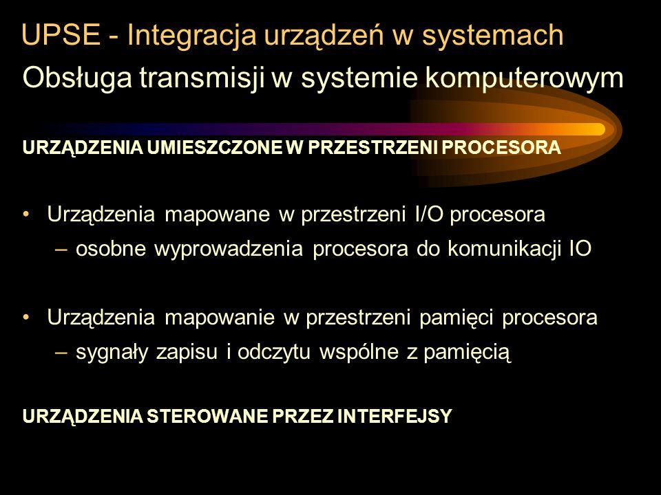 UPSE - Integracja urządzeń w systemach