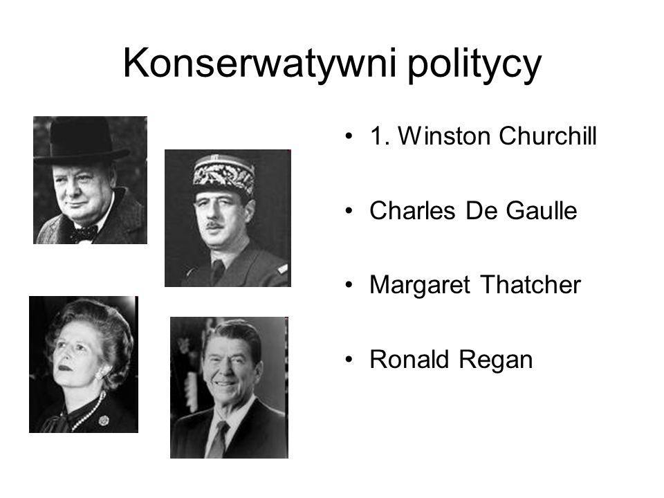 Konserwatywni politycy