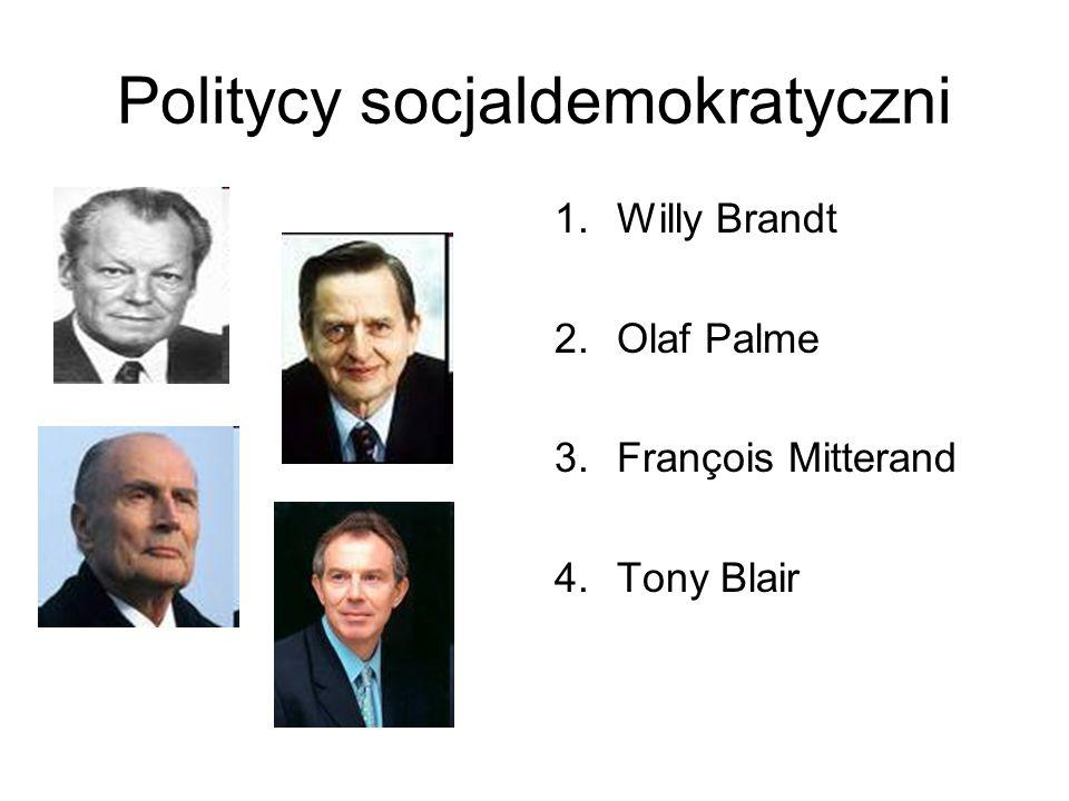 Politycy socjaldemokratyczni