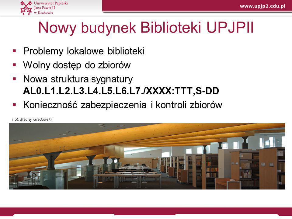 Nowy budynek Biblioteki UPJPII